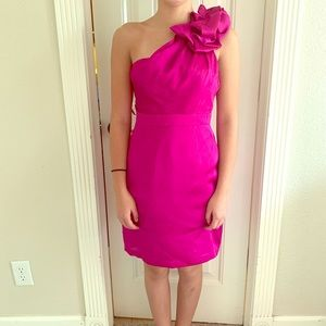 The Limited-Pink cocktail dress